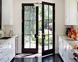 Wood French Doors