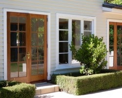 wooden french doorss christchurch