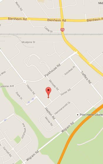 Adrian Harris Woodcraft Location